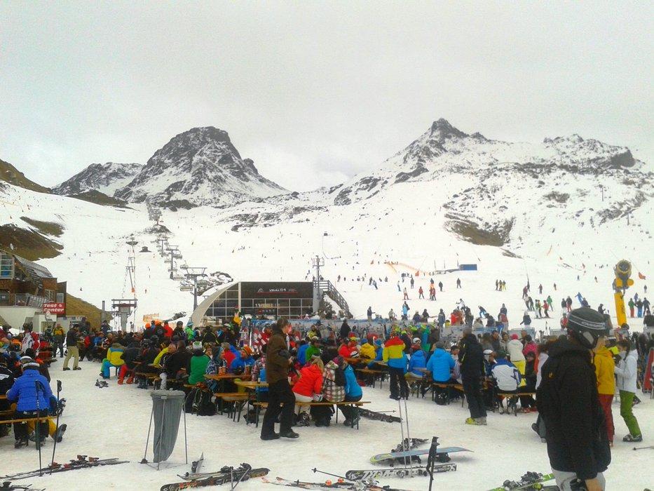 Zahájení zimní sezóny 2014/15 v Ischglu - © TVB Paznaun - Ischgl