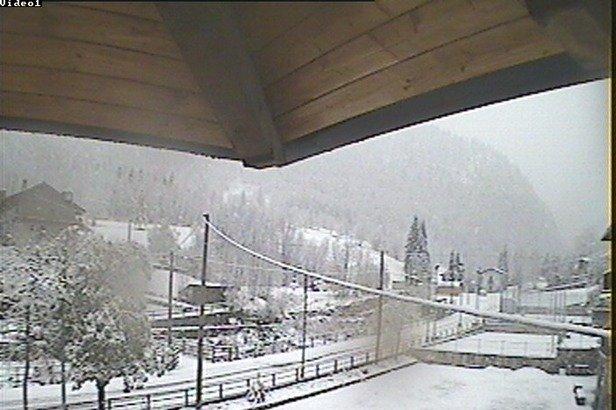 Canosio, Neve fresca 4 Novembre 2014