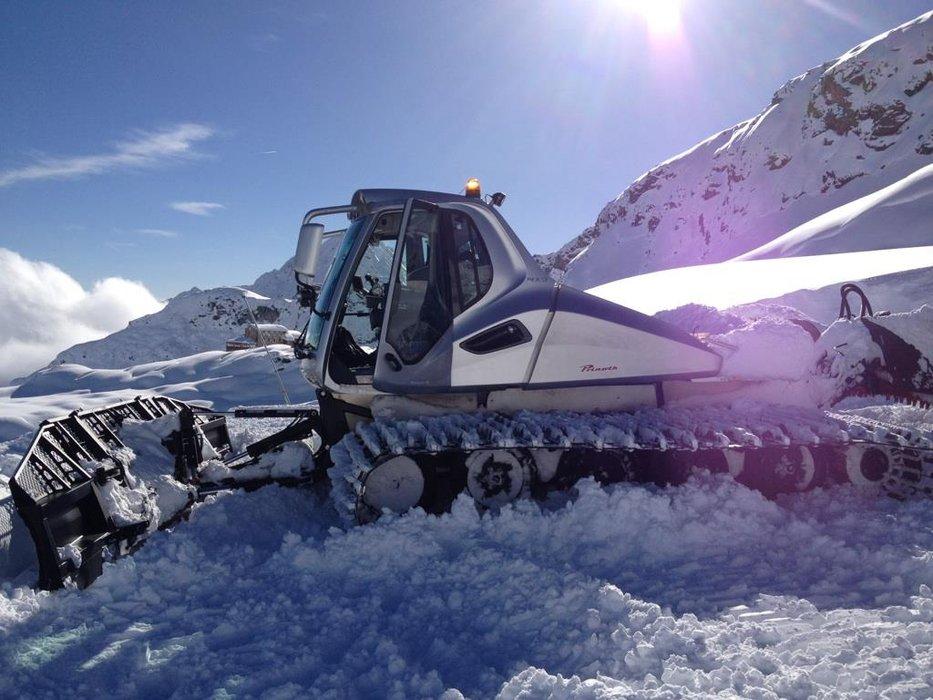 Monterosa Ski 14.11.14 - Neve fresca Novembre 2014