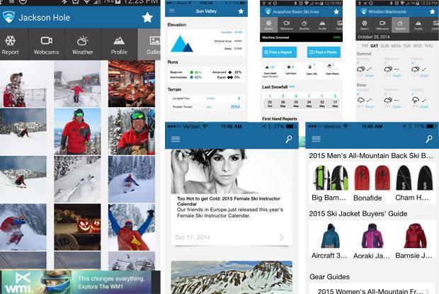 New OnTheSnow App, 2014