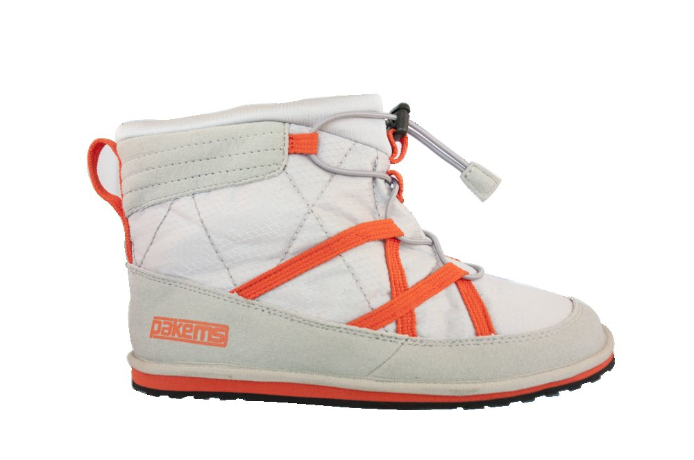 Pakems Women's Classic White/Orange (High-Top): $65 Have your après and comfy feet, too with these packable shoes, designed expressly for the purpose of boot-free imbibing. This super fun, lightweight footwear packs away in its own bag and comes in low and high-top styles as well as boots and a variety of cool colors and patterns.