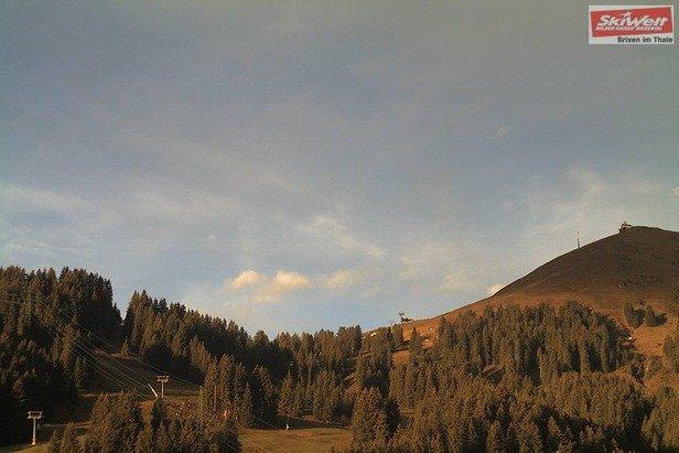 Noch kein Winter ist in der SkiWelt Wilder Kaiser Brixental eingekehrt - © SkiWelt Wilder Kaiser