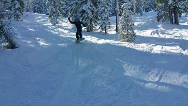 good coverage  and fun skiing
