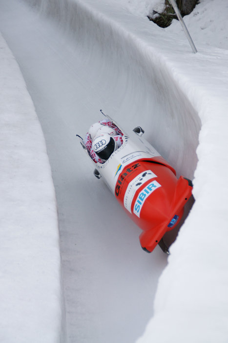 Olympia Bob Run in St. Moritz/Celerina - © World and European Cup Bob and Skeleton on the Olympia Bob Run