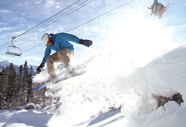 Book 2 nights at Purg by 12/26, get the 3rd night FREE! - ©Durango Mountain Resort