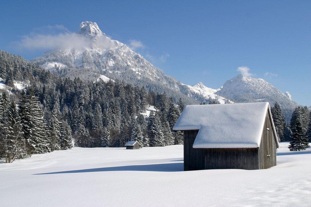 Achtal im Winter - © Pfronten Tourismus