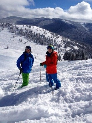 Great snow in Vail - © Nick's iPhone5