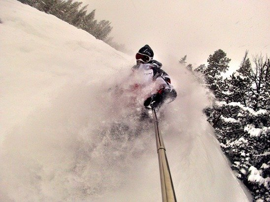 Powder in Red Lodge Mountain - © 1WheelRevolution