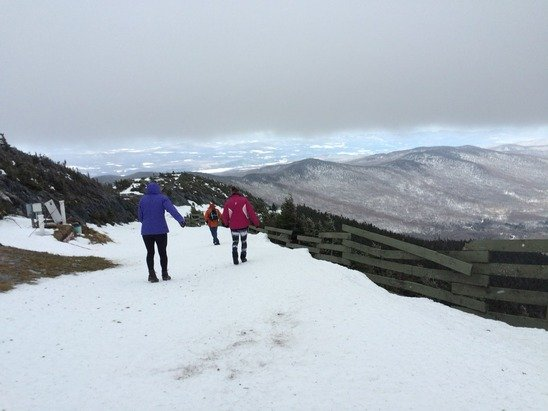 The Christmas climb