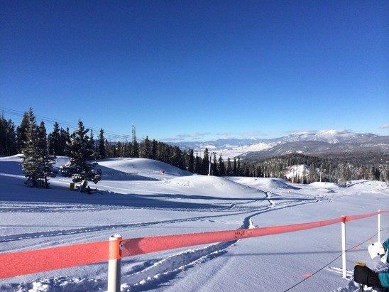 Skiing was great! We had 3 good days.