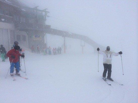 28.12.2014 nevicate con scarsa visibilità