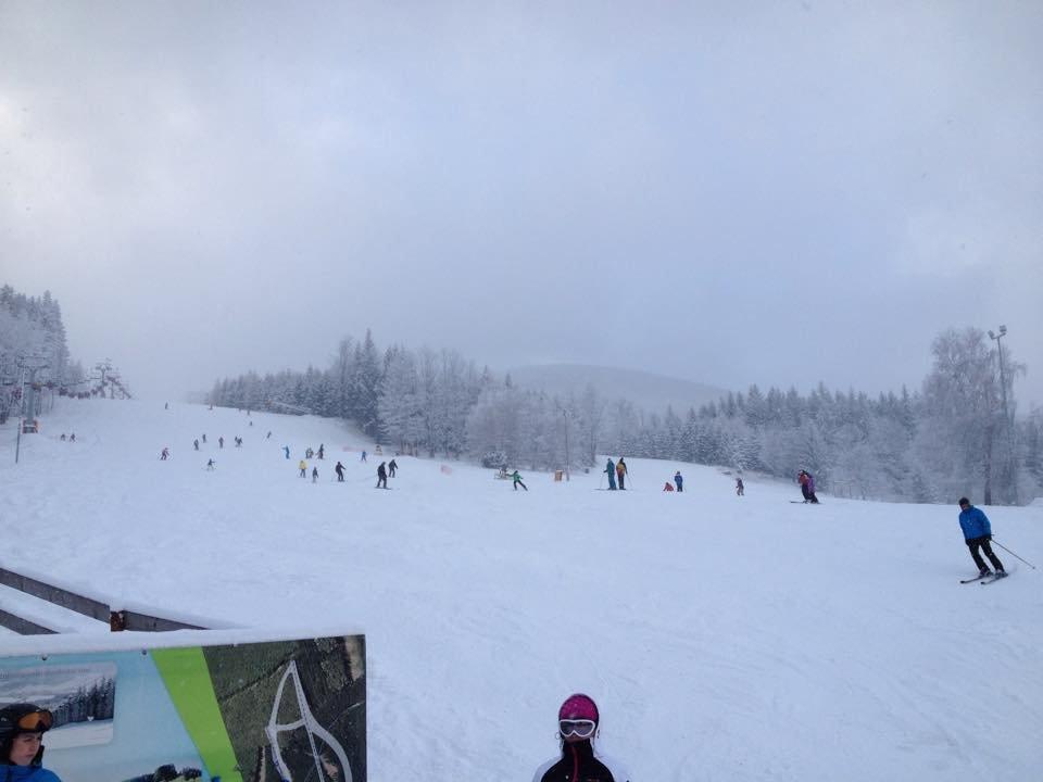 Filipovice a první letošní lyžovačka (29.12.2014)