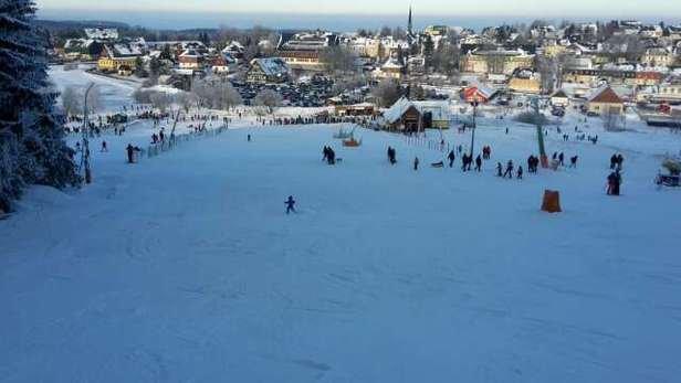 Saisonstart am 28.12. ein voller Erfolg  schöner Schnee z.T.Kunstschnee aber beste Qualität