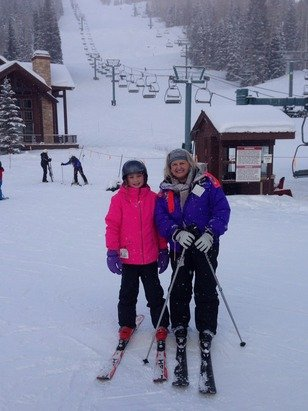 Great skiing today ! People go out of there way to help you but need to work on there transportation problem.