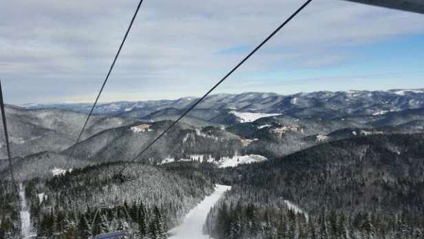 Last week wonderful view from the main chair lift