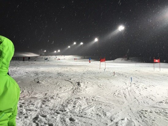 Nevica abbondantemente