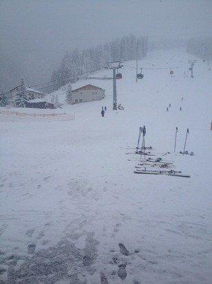 Neve fresca 30 cm o forse più