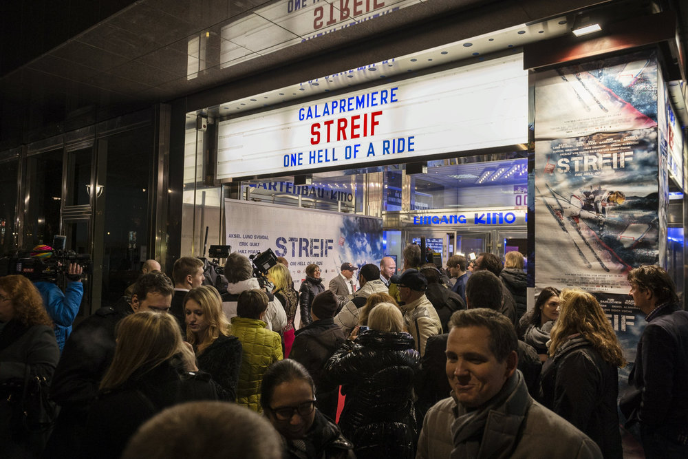 Streif - One Hell Of A Ride: Premiere am 15.12.2014 in Wien - © Philipp Schuster/Red Bull Content Pool