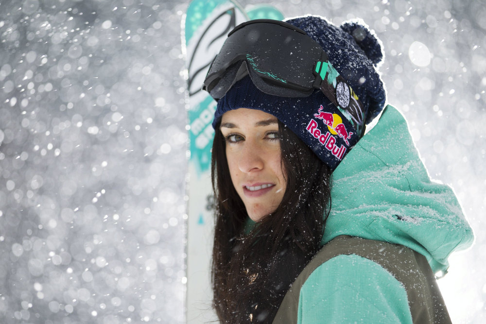 "Tatum Monod (CAN) wurde vom Freeskiers Magazine ""freeskiing's next IT-girl"" genannt - © Red Bull Media House"