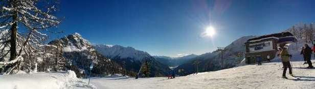 Amazing day, nicely groomed with a little power.. sunny day with good visibility