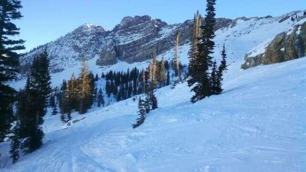 Super skiing.