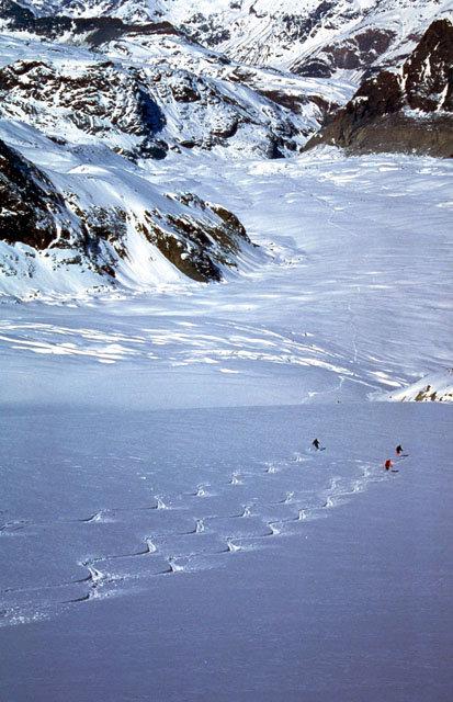 Wunderschöner Schnee liegt vor den Fahrern - © Centroestero/Freeride Paradise