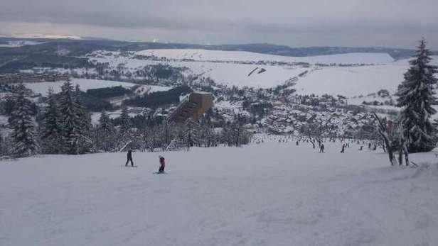 Super Skibedingungen.