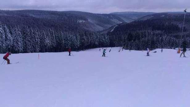 super Skiwetter,Piste gut