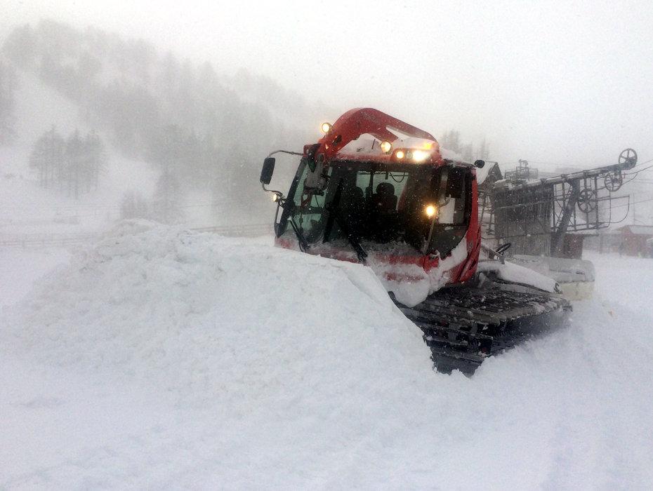 Val d'Allos - 50 cm de neige fraîche : le domaine de l'Espace Lumière ouvert dès ce week-end - © Office de Tourisme du Val d'Allos