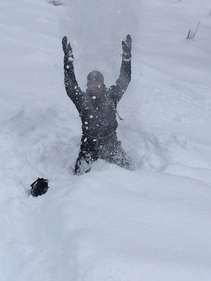 To much snow