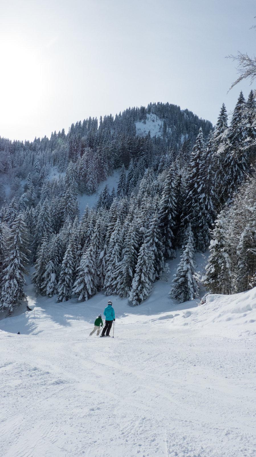 Auf der Höllwiespiste - © Bergbahnen Oberstdorf/Kleinwalsertal
