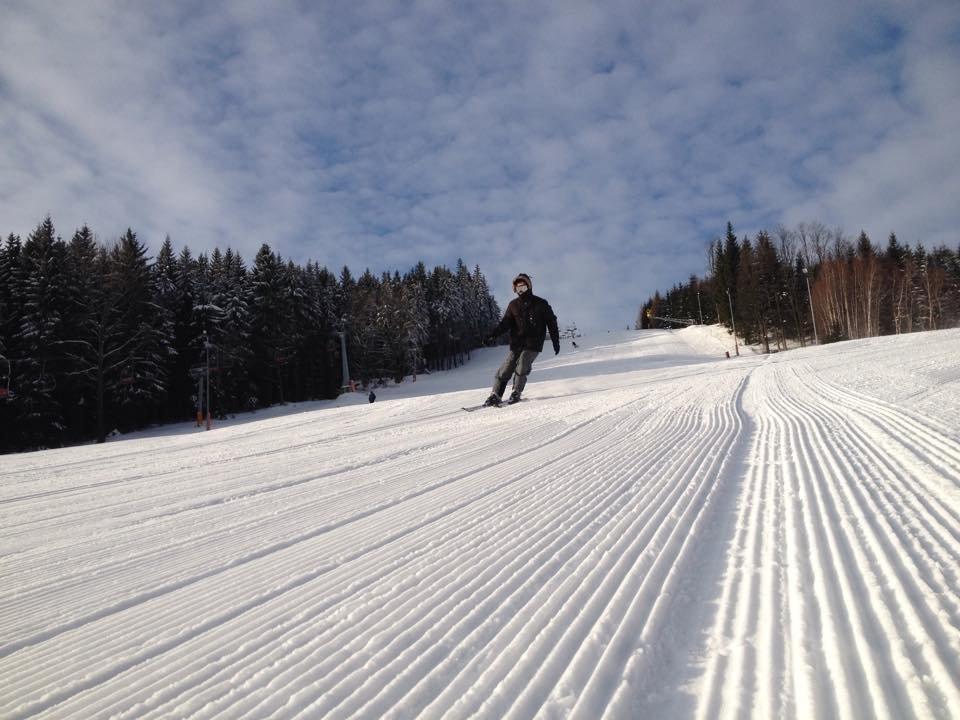 Skipark Filipovice - skvělá slunečná lyžovačka - © Facebook