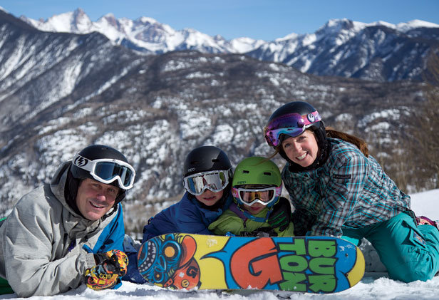 Create lifelong memories of family fun and Spring Break Skiing & Boarding at Durango Mountain Resort! - © Durango Mountain Resort