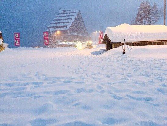 Qui continua a nevicare!!!!! Che spettacolo.