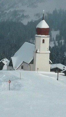 Super Schnee und klasse Pisten waren es am Freitag in Damüls.