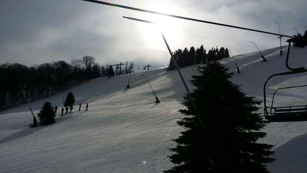 Another awesome weekend, what a super job by 7 Springs. ...!   Great conditions. . weekend after weekend.