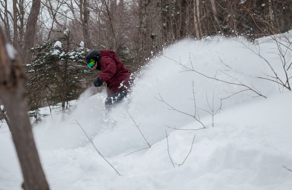 Killin' it at Killington Resort. - ©P.J. McDaniel/Killington Resort