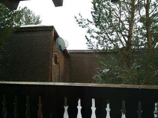 il neige depuis ce matin