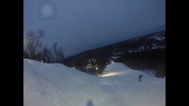 Upper Gunbarrell on 2-16-15 view from GoPro