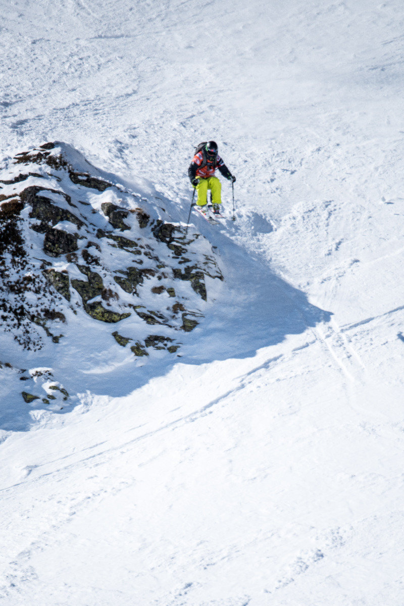 Felix Wiemers (GER) belegte Rang 3 - © Freeride World Tour | David Carlier