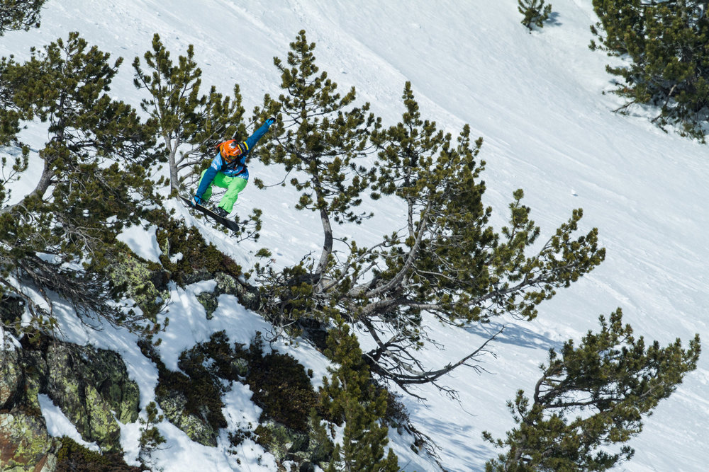 Freeride World Tour 2015: Vallnord - © www.freerideworldtour.com / David Carlier