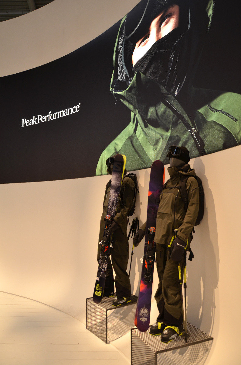 Peak Performance na ISPO 2015 - © Skiinfo