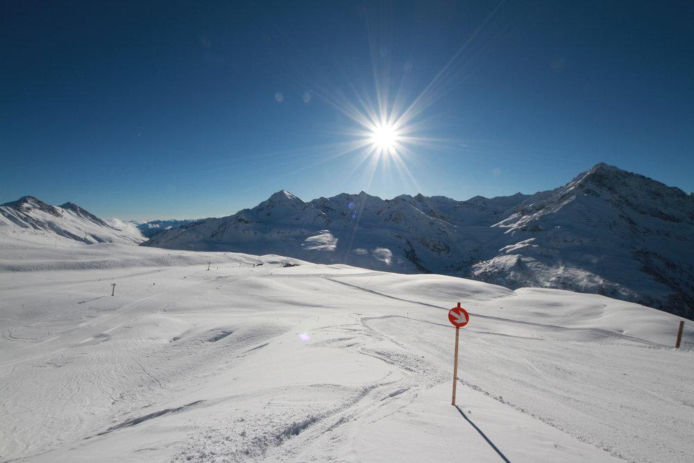 Kühtai Ende Januar 2015 - © Skiinfo