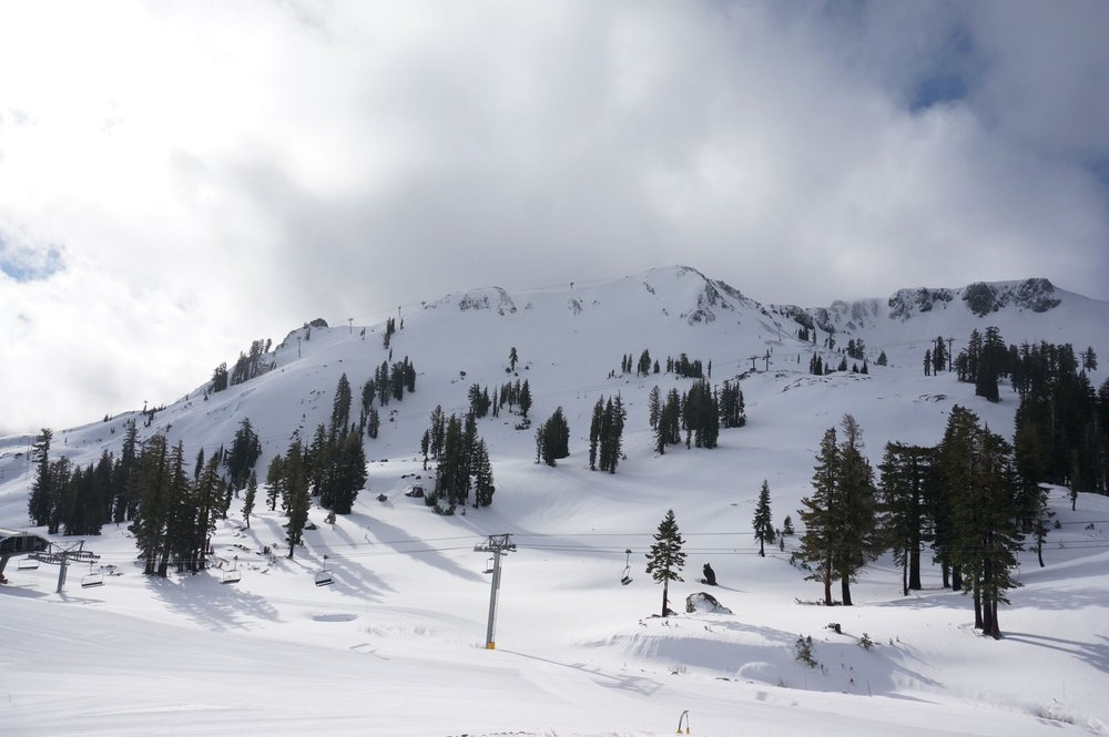 Squaw Valley post snowstorm. - © Squaw Valley