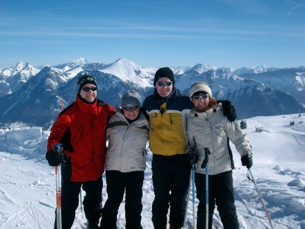 with the Burtons at Les Aillons - ©chatox man @ Skiinfo Lounge