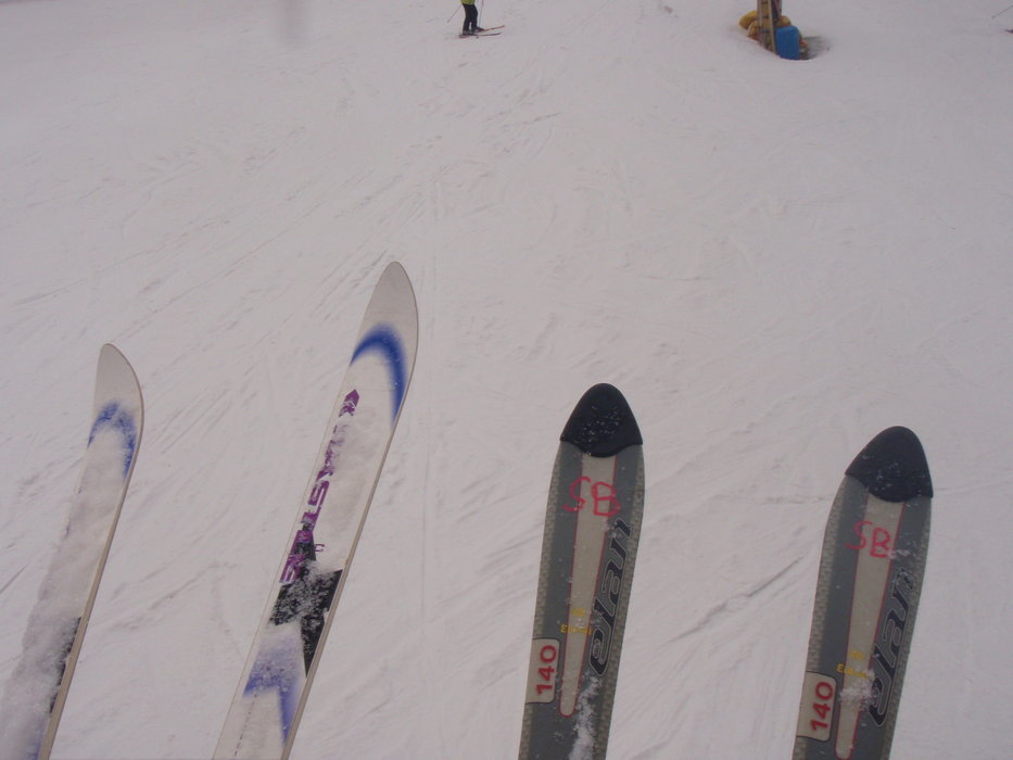 Random picture of our skis | Myself - ©Me | Nazo400 @ Skiinfo Lounge