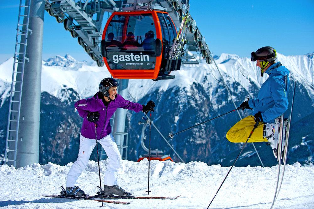 Hier zahlt sich der Urlaub aus - © Bergbahnen Gastein AG