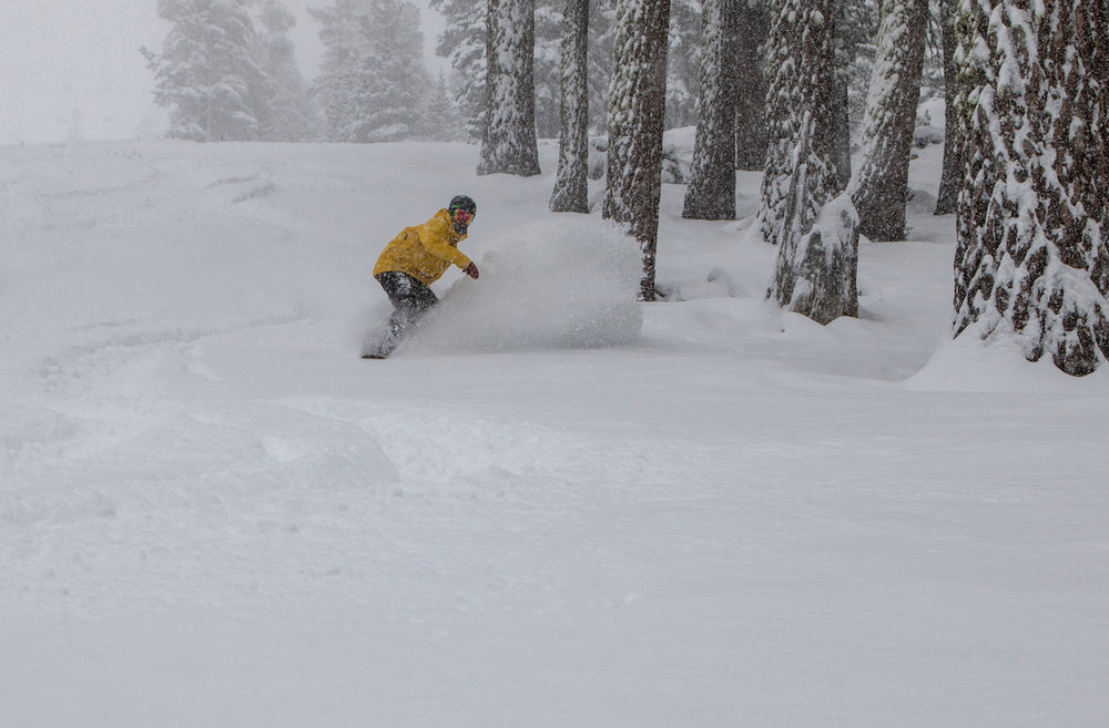 Feb. 28, 2015 powder at Northstar California. - © Northstar California Resort