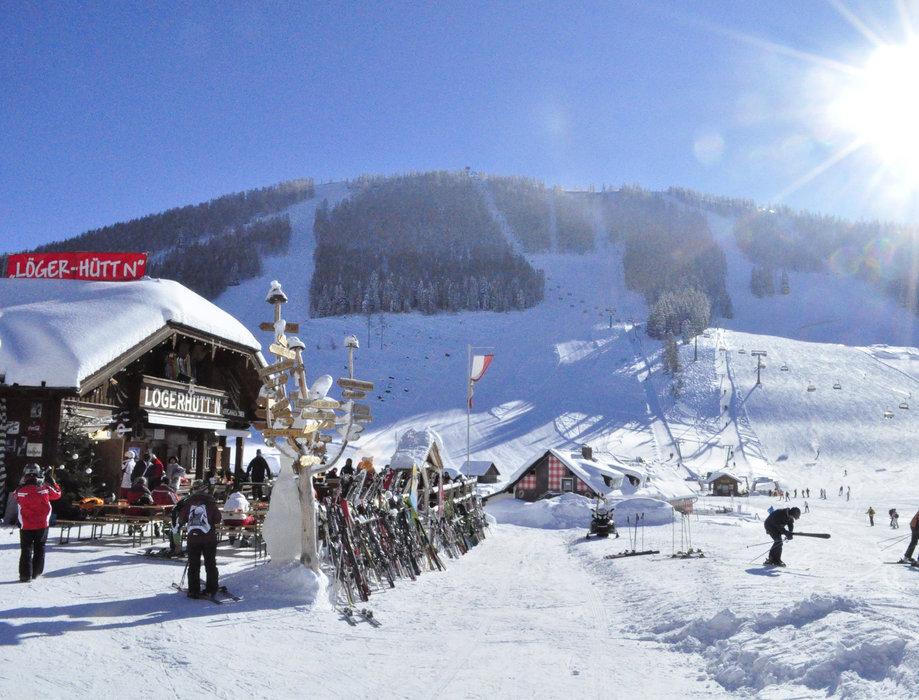 Lögerhütte in der Skiregion Hinterstoder-Wurzeralm - © HIWU | Lögerhütte