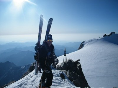 Top of Monte Rosa | Dom - ©Dre | dom2ski @ Skiinfo Lounge